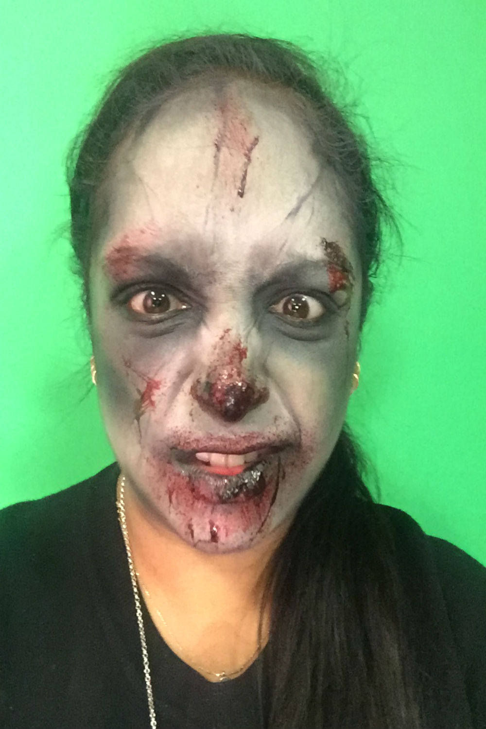 A Halloween Zombie Make-Up Tutorial Made Easy