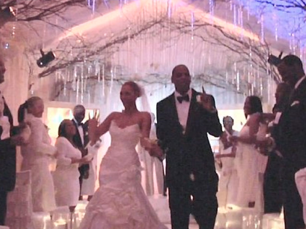 Beyonce And Jay-Z Wedding Video | Marie Claire