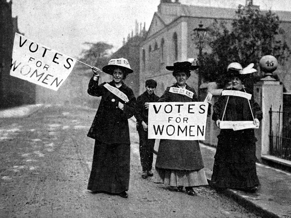 womens suffrage in early 1800s and 1900s history essay Women were excluded from voting in ancient greece and republican rome, as  well as in the  woman suffragea history of woman suffrage around the world.