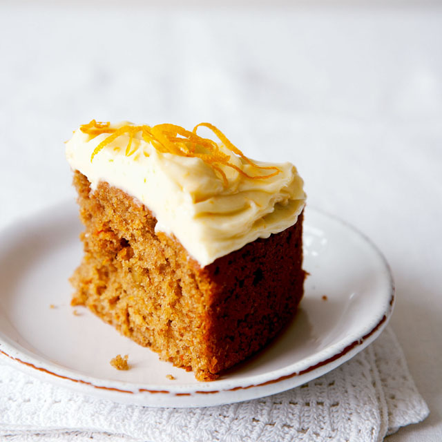 Carrot Cake Recipe With Cream Cheese Frosting Uk