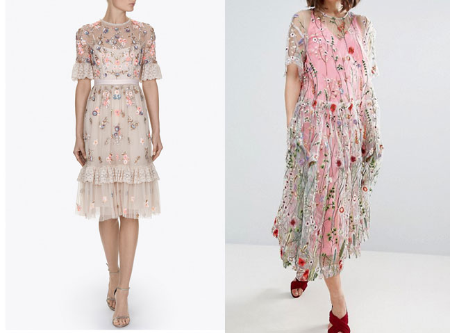 The hm embroidered dress that keeps selling out woman and home left ditsy scatter dress 300 needle thread ccuart Images