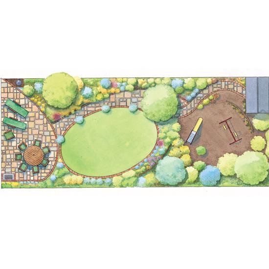 Thin Garden Design