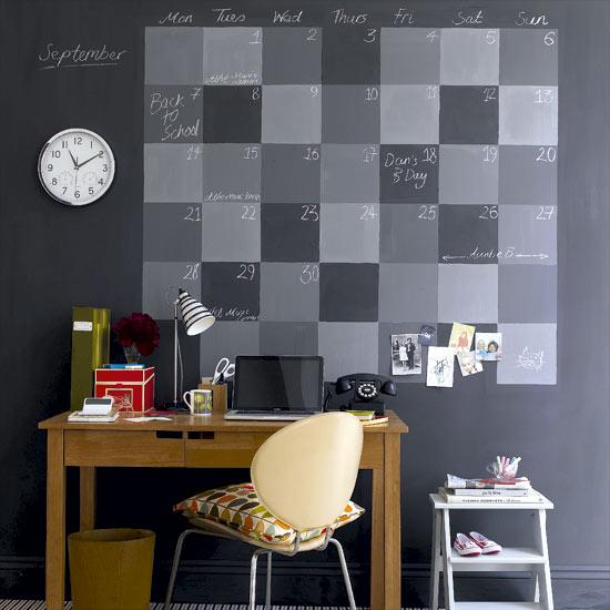 Decorating projects blackboard