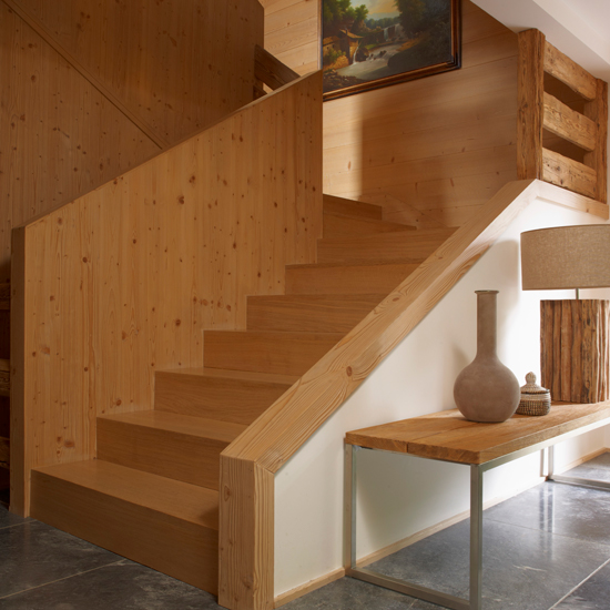 Staircase Ideas For Your Hallway That Will Really Make An: Wooden Interior Design Ideas: From Wood Panelling To