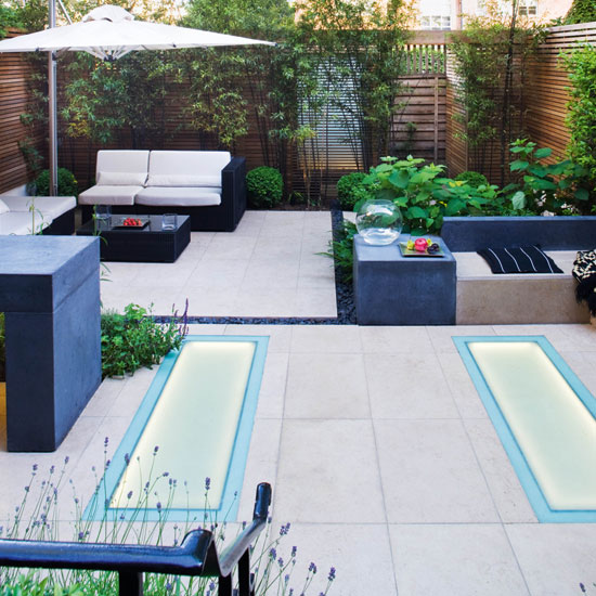 Designs and ideas for gardens without traditional grass lawns on Grassless Garden Ideas id=71446