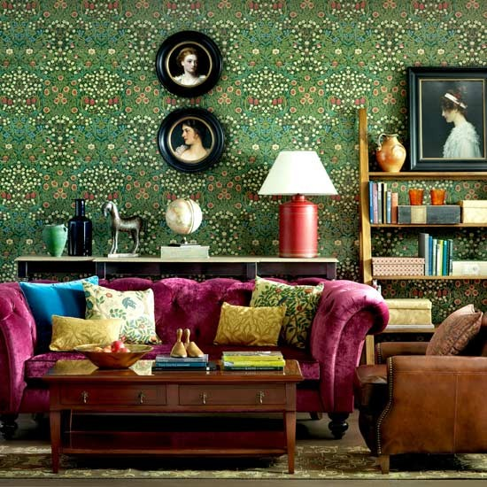 9 things william morris has taught us about decorating for Edwardian living room ideas