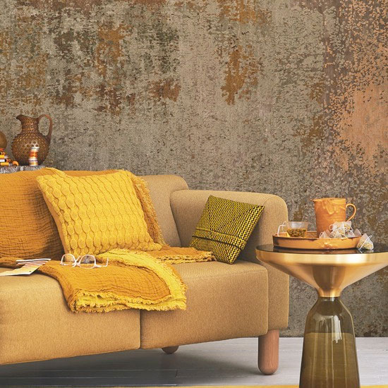 Clever Ways To Design A Living Room And Bedroom Combo: How To Decorate With The Colour Of The Year