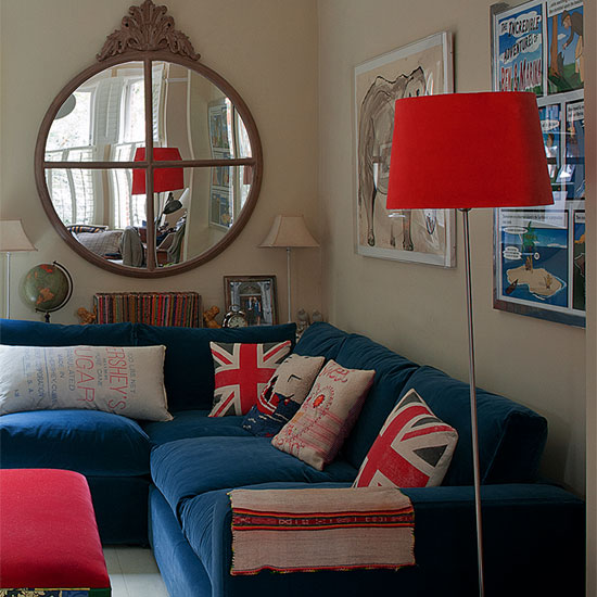 Union jack cushion a modern style home trend idea for Union jack bedroom ideas