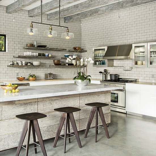 Industrial style interiors for Industrial style kitchen