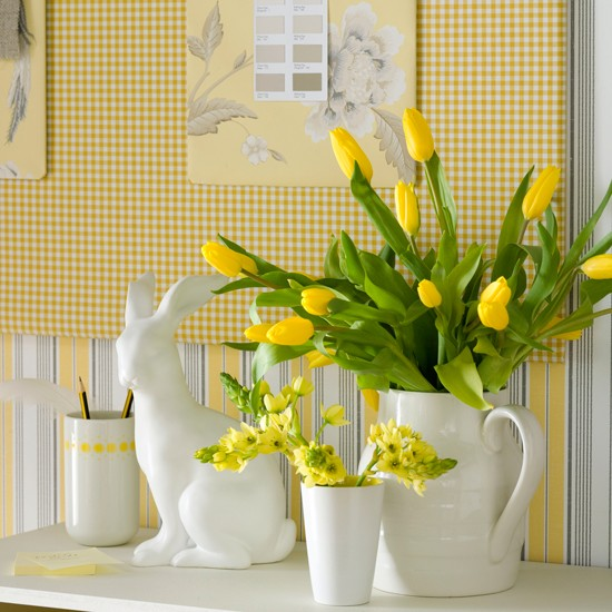 Using Filler In Fluff In Home Decor Making Arrangements: 11 Quick And Easy Ways To Decorate For Easter