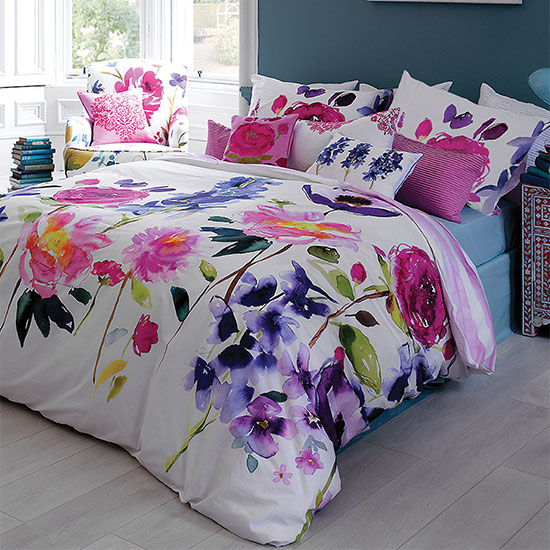Floral bed linen ideal home housetohome amazing bedding sets