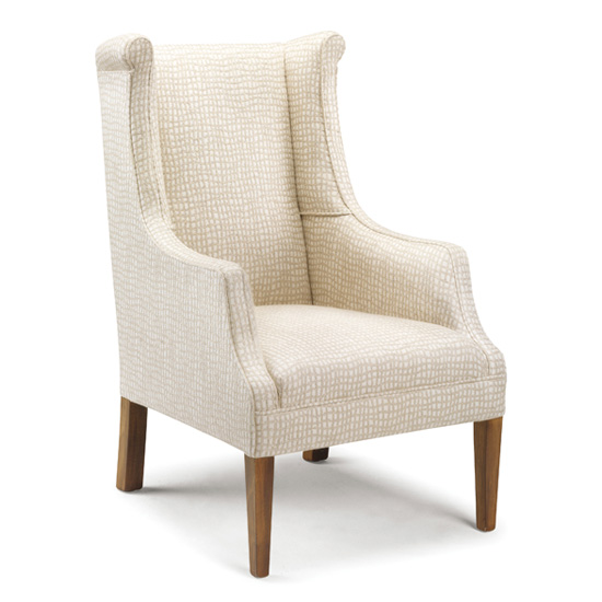 Stylish small armchairs for shorter people