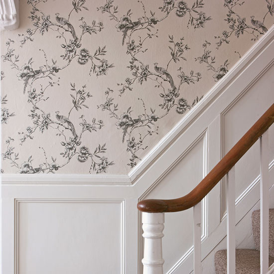 40 Ways To Decorate Your Staircase Wall 2018: 10 Wallpaper Ideas For Hallways