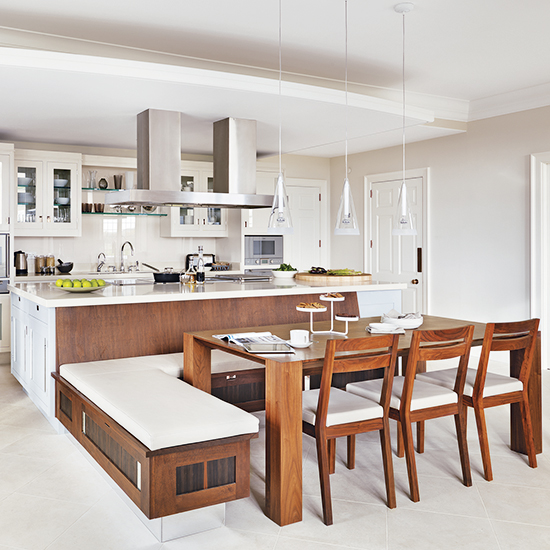 which booths and integrated kitchen seating are best for your kitchen