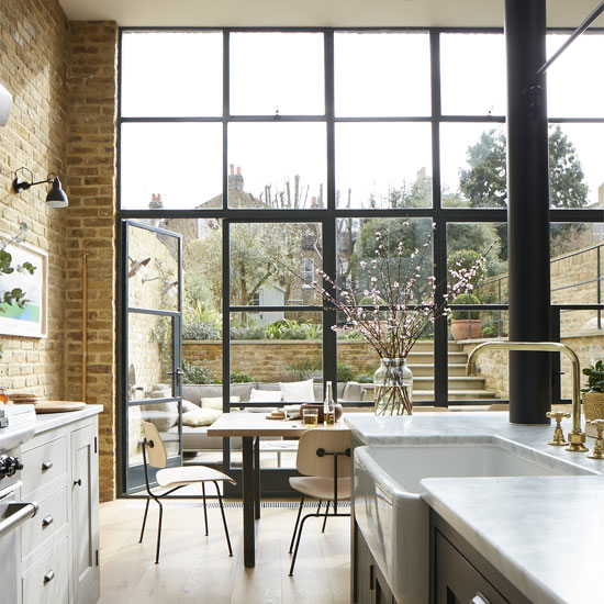 Stylish Design House Big Glass Windows Stock Photo: Need To Know: Crittall Windows