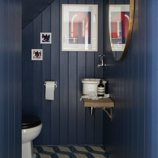Lighting Basement Washroom Stairs: 7 Design Ideas To Steal From This Edgy Home