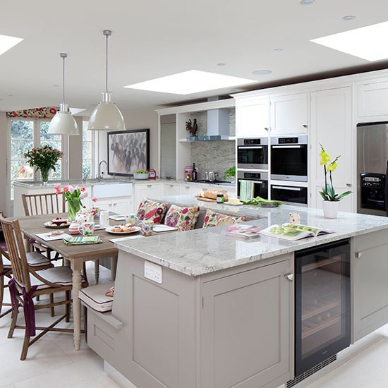 Kitchen Island Ideas With Seating: Streamline For Spring With Dual-purpose Ideas For Tiny Homes