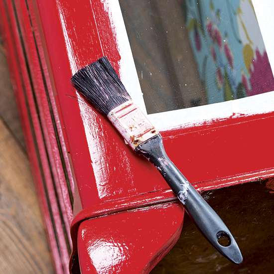Pack A Punch With Our Colourful Painted Cabinet Upcycling Idea