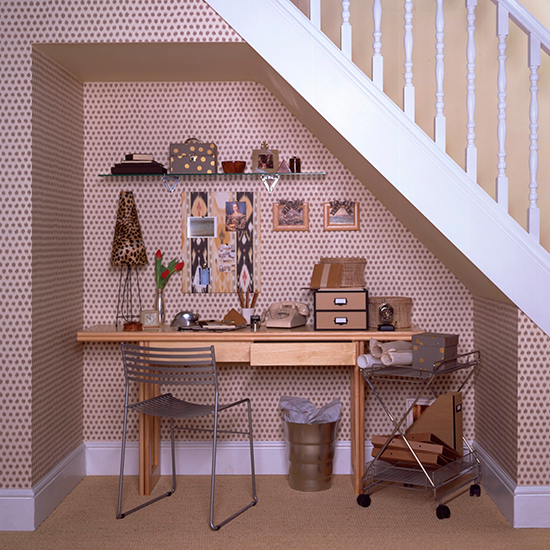 ideas to transform the space under your stairs