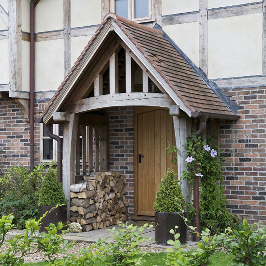 Wooden Front Porch Uk: Traditional Front Doors