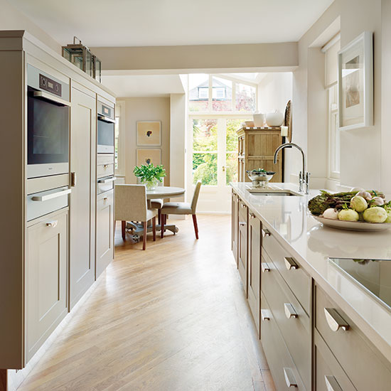 Small Kitchen With Reflective Surfaces: Big Questions For Small Country Kitchens