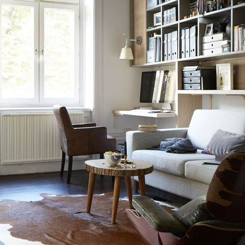 five stylish studies that are far too gorgeous to work in. Black Bedroom Furniture Sets. Home Design Ideas