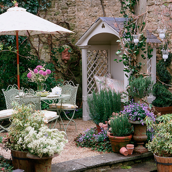 Vintage garden 7 DIY vintage garden projects for Bank