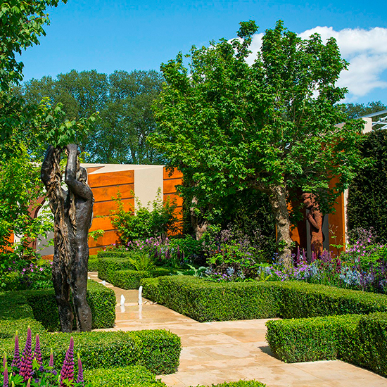 How to plant a colourful herbaceous border for your garden for Garden designs for rectangular gardens