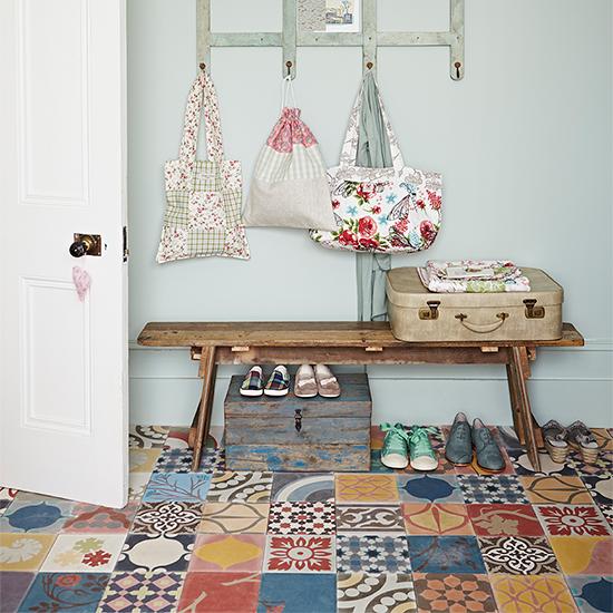 Decorative Floor Tiles For An Inspiring Country Floor