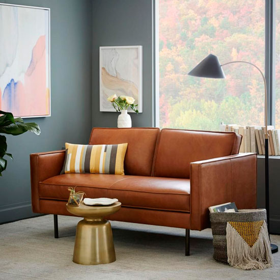 Style Guide To Leather Sofas