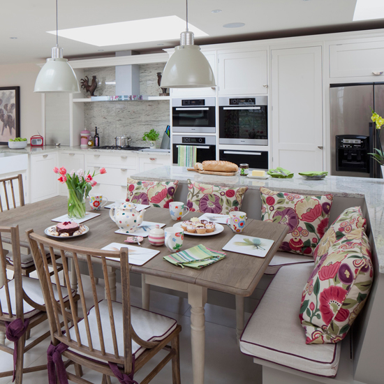 Kitchen Family Room Ideas Uk: Kitchen-diners That Are Rocking A Bench Seat