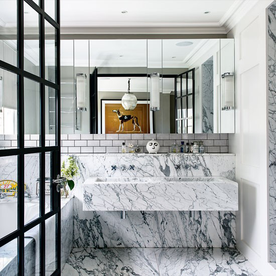 Marble Made Cool: How To Work It In A Modern Home