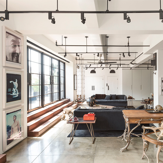 Industrial Style Interiors