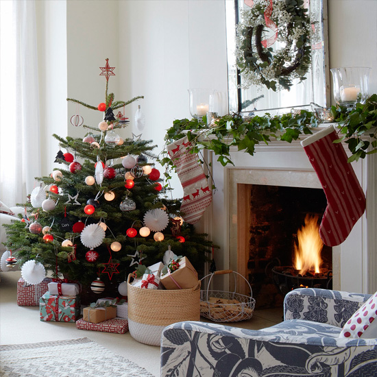Small Christmas Trees Uk: Christmas Tree Ideas And Designs For Tiny Homes