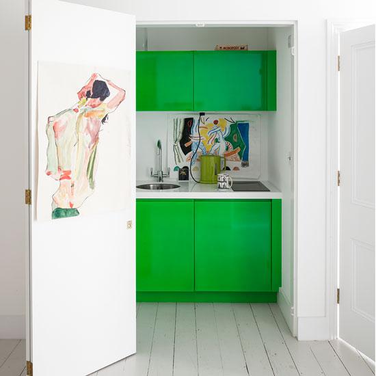 Ways To Add Colour To An All White Kitchen