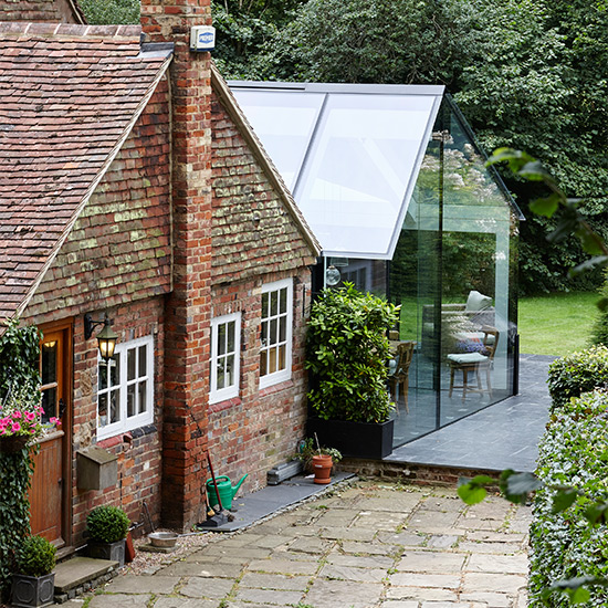 Add an extra dimension to you home with a glinting for Adding a conservatory