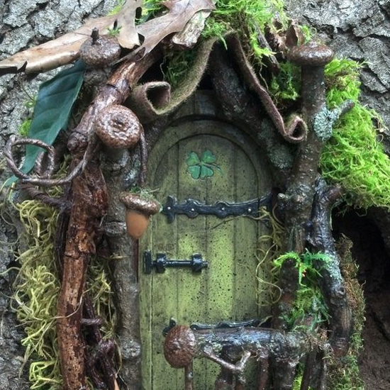 Fairy Doors In The Garden