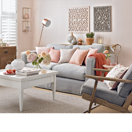 Colour School Decorating With Peach French Grey
