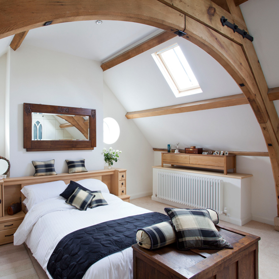 7 Beautiful Timber-framed Bedrooms