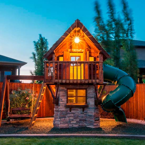 You won t believe these amazing kids playhouses for Childrens play house