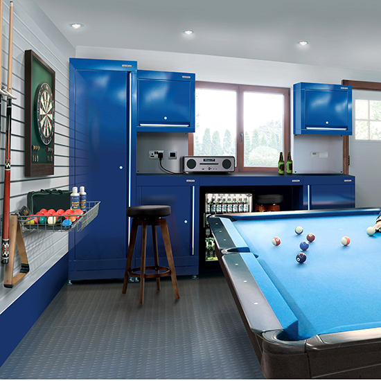 Garage Turned Into Game Room: Designer Garages: Step Inside The 'motor Man Cave'