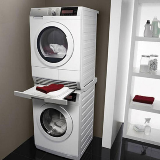Space Saving Laundry Solutions For Small Houses