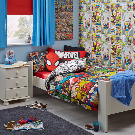 Boys Superhero Room Decor: Marvel Bedroom Ideas