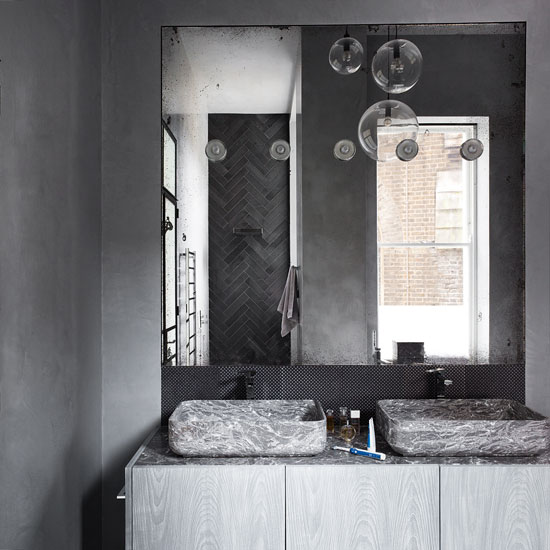 10 statement light fittings that will make a space shine - Make bathroom shine ...